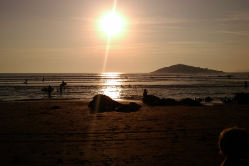 Late summer sun at Bantham