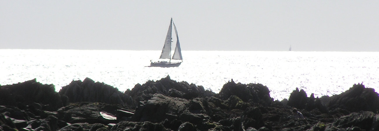 Summer Sailing off Bigbury