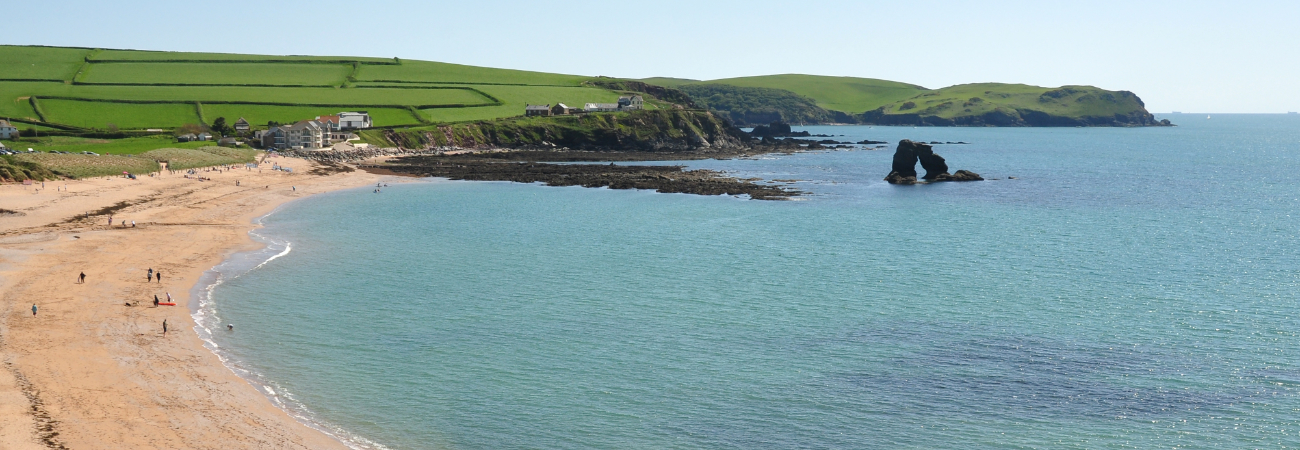 South Milton beach near Thurlestone